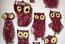 owl school / owl theme, kindergarten, preschool, elementary
