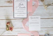 Rose Quartz and Navy Wedding