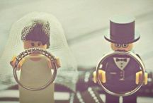 Lego wedding ring bearers / Nats n Eddie