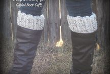Crochet - Boot Cuffs / by Angie Chrisman