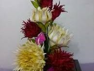 cascadas de flores