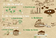 Green Living / Ecological ideas to walk lightly on the Earth