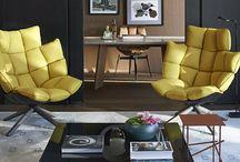 Living / Living e salas de estar inspiradoras!!! #hugarquitetura #huginspira #living #saladeestar #estar #livingroom #arquitetura #decoracao #design