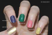 BURBERRY  / Nail polish swatch