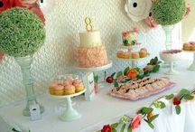 Десертные столы