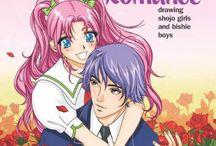 nää manga kirjat tytöllä on