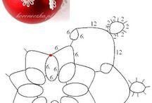 wzory frywolitek schematy
