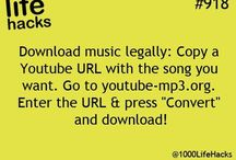 Music download hacks