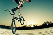 Bmx freestyle & mountain bike