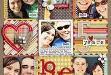scrapbook pages-Us