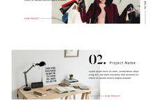portfolio website ideas & quotes etc.