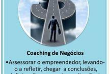 Coaching de Negócios / Assessorar o empreendedor levando-o a refletir, chegar a conclusões, definir ações para agir em direção de seus objetivos e desejos.