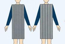 roupas proporções