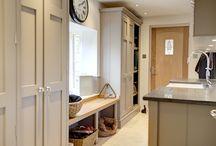 Hallway & Cloakroom / Design inspiration for hallway & cloakroom