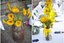 Country Chic Sunflower Wedding