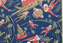 Christmas ~ Vintage Gift Wrap / by Heather Cox
