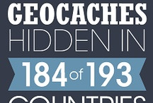 Geocaching Infographics / Some geocache related infographics, teaching you a little more about geocaching.