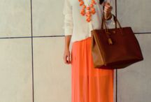 MAXI DRESSES & LONG SKIRTS / It's an idea board for all who love to wear long skirts and dresses.  Be Inspired !!