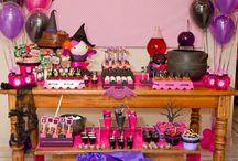 Pink preto roxo