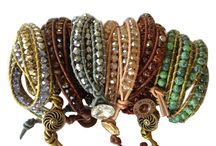WillamyCollection.com Fall Designs / WIllamyCollection.com Handcrafted Leather Wrap Bracelets for Fall