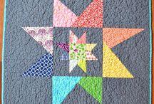 Hvězdy / Star / patchwork