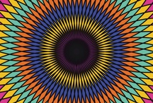 {design} Kaleidoscope / Decorative patterns & art made by kaleidoscopes, Spirographs, and similar devices (or their digital equivalents).