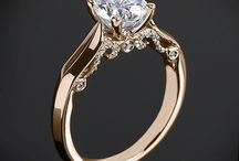 Wedding rings, places, dresses