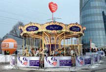 Merry go round - another place! / Another carousel for PLAY and WOŚP