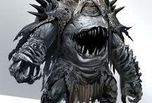 monster og fabeldyr