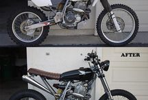 Moto scrambler