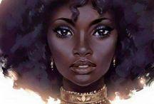 Femme noire & Art / Femme noire