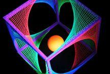 UV String Art