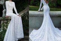 Longsleeve wedding dress