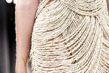 Texture embroidery layers