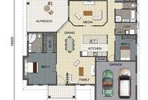 House Floorplans / House Floorplan Ideas from Grady Homes, Townsville builder.