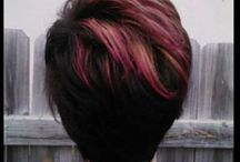 red ombre look
