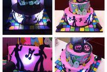 70's themed cake ideas