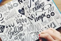Notebook--lettering