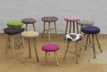 Wet felted   furniture