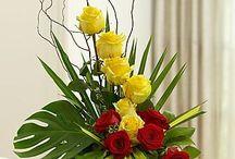 Blomsterarrangementer