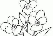 tavaszi szinezők