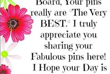 Thank You Board <3 * / Appreciation board for all my followers! Please feel free to re-pin any of my boards' content, there is no pin limit.