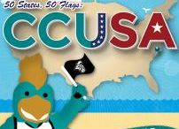 #TEALNation / See Chanticleers across the #CCUSA from sea to shining sea! / by Coastal Carolina University