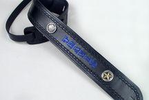 Custom Guitar Straps / Handmade personalized leather guitar straps.