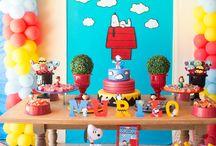 Festa Snoopy Murilo 2 anos