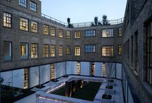 The Brassworks / The Brassworks, located in a quiet mews close to Marble Arch, is a remodelling for the Church Commissioners of a former Victorian factory into a series of loft style apartments