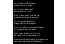 Gedichten / Gedichten over allerlei gevoelige onderwerpen die in me op komen!