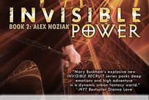 INVISIBLE POWER -  Book 2 Urban Fantasy Invisible Recruits series / The best selling Alex Noziak URBAN FANTASY series! Alex survived (barely) her first mission as an Invisible Recruit agent, fighting the bad preternaturals, but that was nothing to what she must face in Paris, the city of love, and death!