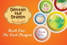 Books Kids Love / Bubbleland books, featuring Denton the Dragon in Tales of Bubbleland, and more!