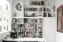 Office / #office #decor #design #white #raw #minimal #zen #colorful #modern